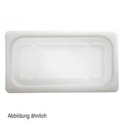 Soft-Deckel für Schale GN1/2, LxB 325x265 mm, Polyethylen-Kunststoff (PE-HD), weiß