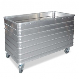 Transportwagen aus Leichtmetall, 415 Liter, LxBxH 1030x670x835 mm, Tragkraft 250 kg