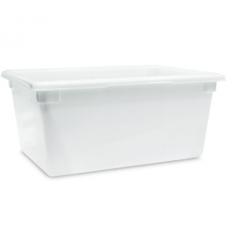 Lebensmittelbehälter, LxBxH 660 x 457 x 305 mm, 63 Liter, naturweiß