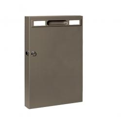 Schlüsselschrank mit 105 Haken, BxTxH 270x52x515 mm, anthrazit