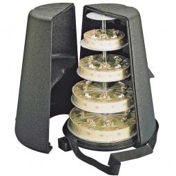 Thermobox für Hochzeitstorten, ØxH unten 620 x 750 mm, innen ØxH 460 x 720 mm