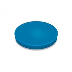 Haftmagnete, blau, Durchmesser 24 mm, Haftkraft 300 g, Paket=10 Magnete