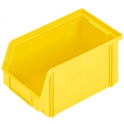Sichtbox CLASSIC FB 4, LxBxH 230/200 x 140 x 122 mm, Gewicht 230 g, 3,7 Liter, gelb