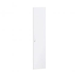 Flügeltüren FLEX für 5 Ordnerhöhen, weiß, Breite 400 mm, mit Metallscharnieren und Türdämpfern