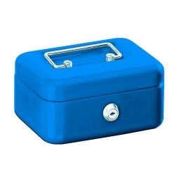 Geldkassette, blau, BxTxH 250x170x75 mm