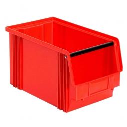 Sichtbox CLASSIC FB 3, LxBxH 350/300 x 200 x 200 mm, Gewicht 750 g, 12 Liter, rot