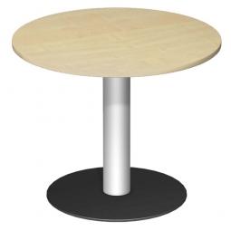 Rundtisch, Tischplatte Buche ØxH 900 x 720 mm