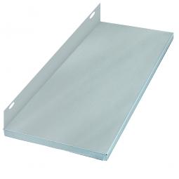 Zusatzboden für Schraubregal, verzinkt, BxT 750x300 mm