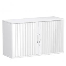 Rollladenschrank FLEX, 2OH, weiß, BxTxH 1200x425x720 mm