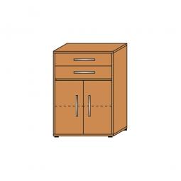 Schrank mit Schubladen, 3 OH, Buche, HxBxT 1120x800x420 mm
