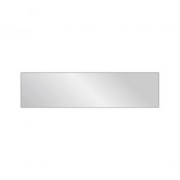 Fachboden für Aluminiumregale, geschlossen, BxT 1350 x 340 mm, für 400 mm Regaltiefe