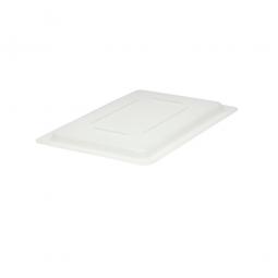 Deckel für Lebensmittel-Beh. 7,5-19 L, naturweiß, LxBxH 457x305x20 mm, Polyethylen