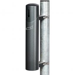 Design-Ascher, HxT 510 x 170 mm, antik-silber