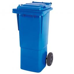 Müllbehälter, 60 Liter, blau, BxTxH 445 x 520 x 930 mm, hohe Ausführung, Polyethylen (PE-HD)