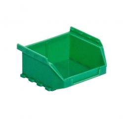 Sichtbox FUTURA FA 6, grün, Inhalt 0,4 Liter, LxBxH 90/65 x 100 x 50 mm, Gewicht 50 g