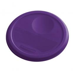 Deckel für runde Lebensmittel-Behälter Inhalt 5,7 und 7,5 Liter, lila, mit Dichtlippen