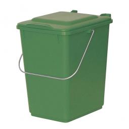 Vorsortierbehälter, Inhalt 10 Liter, grün, HxBxT 310x225x275 mm, Polyethylen-Kunststoff (PE-HD)