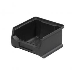 Sichtbox Profi LB6, leitfähige Ausführung, schwarz, LxBxH 100x100x60 mm, innen 75x85x55 mm
