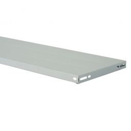 Fachboden für Steckregal, kunststoffbeschichtet, BxT 1200 x 500 mm, inkl. 4 Regalboden-Träger