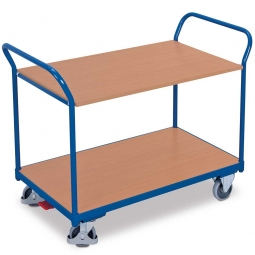 Tischwagen aus Stahl, LxBxH 1195x600x935 mm, Tragkraft 200 kg, Ladefläche LxB 1000x600 mm