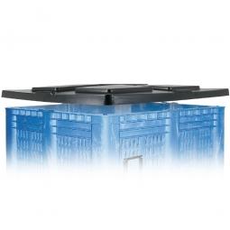Stapeldeckel für Elefantenbox 1300 x 1150 mm, schwarz