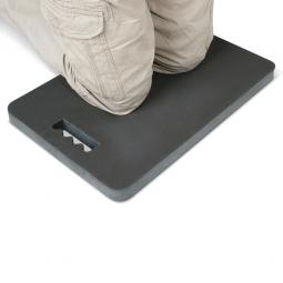 Knieschutzmatte, LxBxH 480 x 320 x 33 mm, PVC-Nitril-Mischung, anthrazit, VE= 2 Stück