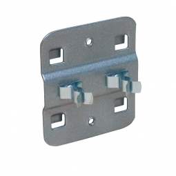 Doppelte Werkzeugklemme, flexibel, Ø 13 mm, VE = 5 Stück