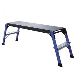 Arbeitsplattform, LxB 1090x300 mm, Plattformhöhe 470 mm, maximale Arbeitshöhe bis 2500 mm