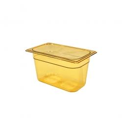 Gastronorm-Schale GN1/4, LxBxH 265x162x150 mm, 3,8 Liter, Ultem-Kunststoff