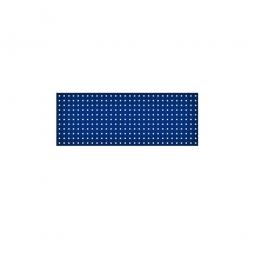 System-Lochplatte, BxH 1200x450 mm, Aus 1,25 mm Stahlblech, kunststoffbeschichtet in saphirblau