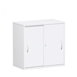 Schiebetürenschrank FLEX, 2OH, weiß, BxTxH 800x425x798 mm