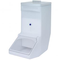 Zutatenspender, 61 Liter, LxBxH 615 x 275 x 675 mm, weiß