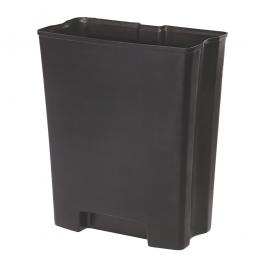 Innenbehälter für Tretabfalleimer Slim Jim, 90 Liter, BxTxH 237 x 311 x 376 mm, PE-HD