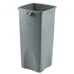 Wertstoffbehälter, rechteckig, 87 Liter, BxTxH 395 x 420 x 790 mm, Farbe grau