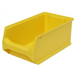 Sichtbox PROFI LB3, gelb, Inhalt 7,6 Liter, LxBxH 350x200x150 mm, innen 295x175x140 mm