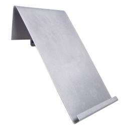 Prospekthalter, BxH 220x310 mm, Für Schlitz- und Lochplatten, lichtgrau
