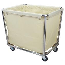 Wäschewagen mit abnehmbarem Wäschesack, Gestell aus Edelstahl, BxTxH 900x650x850 mm