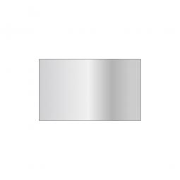 Fachboden für Steckregal, glanzverzinkt, Tragkraft 330 kg, BxT 1000 x 600 mm, mit 4 Fachbodenträgern