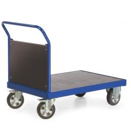 Stirnwandwagen mit Holzwand, LxBxH 1190x700x1050 mm, Tragkraft 1200 kg