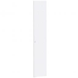 Flügeltüren FLEX für 6 Ordnerhöhen, weiß, Breite 400 mm, mit Metallscharnieren und Türdämpfern