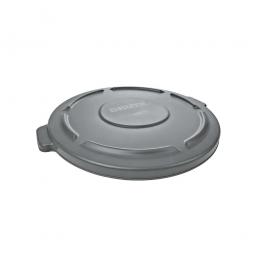 Deckel für Mehrzweckbehälter 76 Liter, grau, Ø 495 mm, Polyethylen-Kunststoff (PE)