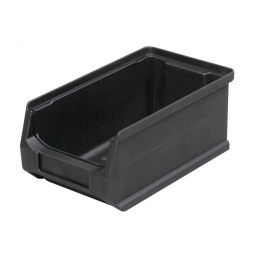 Sichtbox Profi LB5, leitfähige Ausführung, schwarz, LxBxH 175x100x75 mm, innen 145x85x65 mm