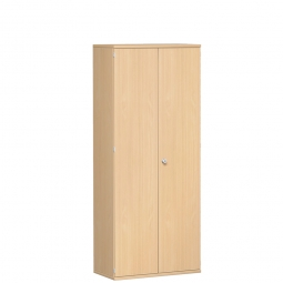 Garderobenschrank PRO, Buche, BxTxH 800x425x1920 mm, 1 Fachboden, 1 Kleiderstange