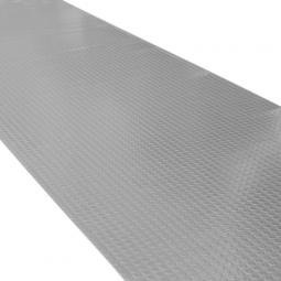 Gummi-Bodenbelag, max. L 10000 mm, B 1200 mm, Stärk: 3 mm, natürlich-synthetische Gummimischung, grau