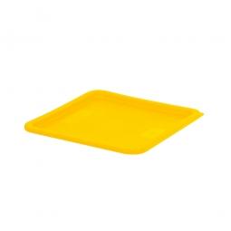 Deckel für Platzsparbehälter, PE, 2 - 7,5 Liter, gelb