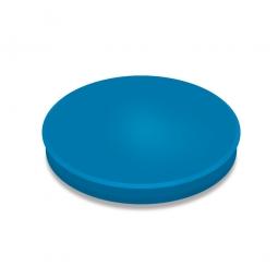 Haftmagnete, blau, Durchmesser 30 mm, Haftkraft 800 g, Paket=10 Magnete
