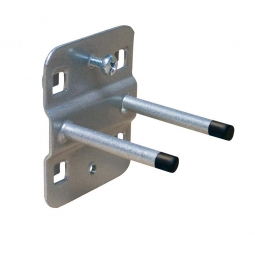 Doppelter Werkzeughalter, Ø 6 mm, gerade Dornen, Länge 100 mm, VE = 5 Stück