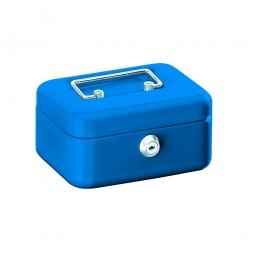 Geldkassette, blau, BxTxH 150x110x75 mm