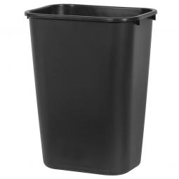 Papierkorb, 39 Liter, schwarz, BxTxH 385x280x505 mm