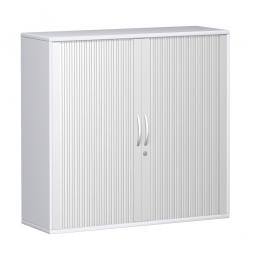 Querrollladenschrank PRO 3 Ordnerhöhen, weiß, BxHxT 1200x1152x425 mm